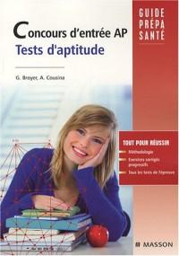 Les tests d'aptitude du concours AP : Auxiliaire de puériculture