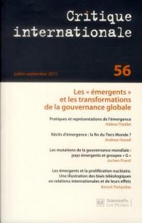 Critique Internationale 56