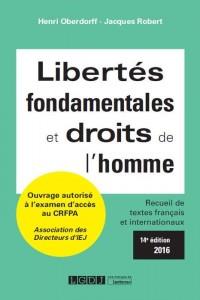 Libertés fondamentales et droits de l'Homme