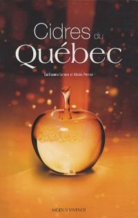 Cidres du Québec