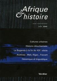 Afrique & Histoire, N° 5/2006 :