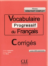CORR.VOCABULAIRE PROGR. DEB.CO