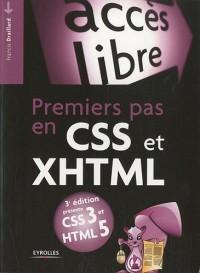 Premiers pas en CSS et XHTML