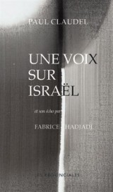 Une voix sur Israël [Poche]