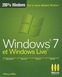 Windows 7 et Windows live