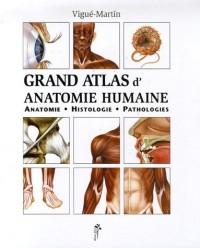 Grand atlas d'anatomie humaine : Anatomie, Histologie, Pathologies