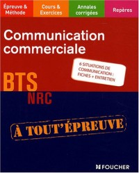 Communication commericale BTS NRC