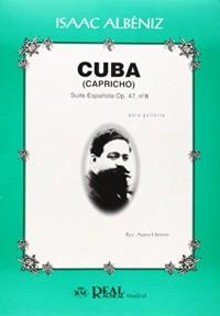 Cuba, capricho [musica impresa! : suite española op. 47 nº 8,