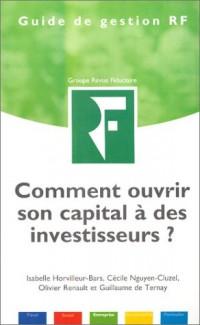 Comment ouvrir son capital à des investisseurs ?