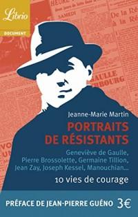 Portraits de résistants