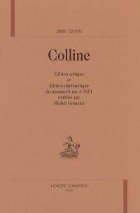 Colline, édition critique établie par Michel Gramain