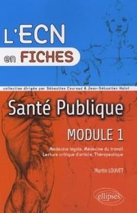 Santé publique : Module 1