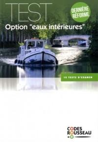 Code Rousseau test eaux intérieures 2017