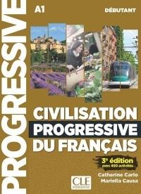 Civilisation progressive du français - Niveau débutant - Livre + CD + livre-web