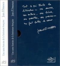 Une Histoire de la littérature française, 2 volumes