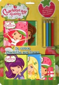 Je colorie Charlotte aux fraises