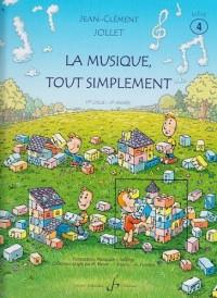 La Musique Tout Simplement Volume 4 Eleve