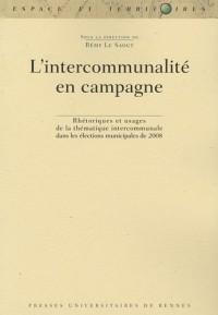 L'intercommunalité en campagne