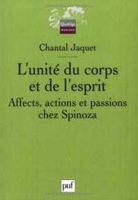L'unité du corps et de l'esprit chez Spinoza