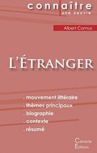 Fiche de lecture L'Etranger de Albert Camus (analyse complète)