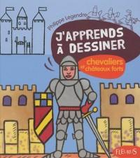 Chevaliers et châteaux forts : Avec un bloc de papier Canson