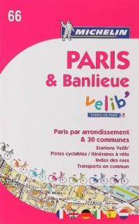 Paris & banlieue velib , par arrondissement et 30 communes
