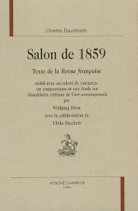 Salon de 1859 : Texte de la Revue française