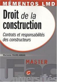 Droit de la construction : Contrats et responsabilités des constructeurs