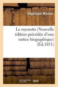 Le Myosotis  Nouvelle ed  ed 1851