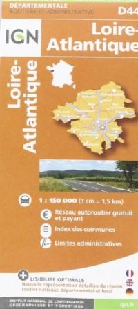 D44 Loire-Atlantique  1/150.000