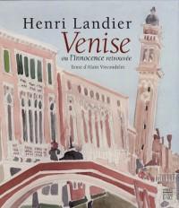 Venise ou l'Innocence retrouvée