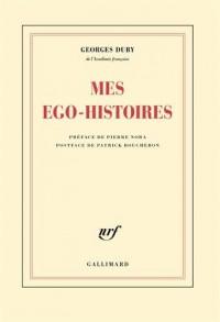 Mes ego-histoires