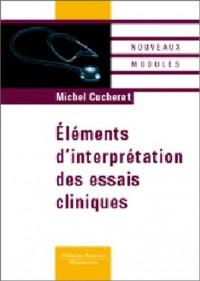 Éléments d'interprétation des essais cliniques