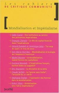 Les cahiers de critique communiste : Mondialisation et impérialisme
