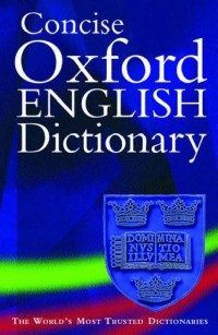 Concise Oxford English Dictionnary