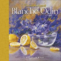 Carnet Adresses Blanche Odin (Demi-Toile Rouge)