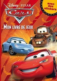 Cars, MON LIVRE DE JEUX