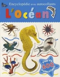Encyclopédie avec autocollants l'océan