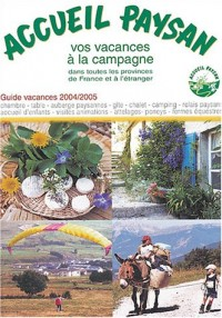 Accueil paysan : Guide vacances