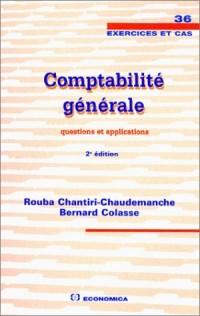 Comptabilité générale : Questions et applications