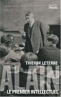 Alain : Le premier intellectuel