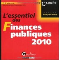 L'essentiel des finances publiques 2010