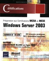 Windows Server 2003 - examen 70-290