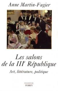 Les salons de la IIIe République