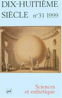 Revue XVIIIe siècle, numéro 31: sciences esthétiques