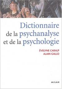 Dictionnaire de la psychanalyse et de la psychologie