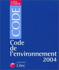 Code de l'environnement 2003