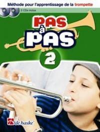 DEHASKE PAS A PAS TROMPETTE VOL.2 + 2 CD