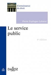 Le service public - 4e éd.