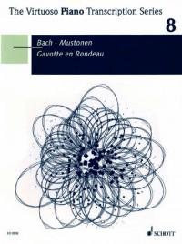 Gavotte en Rondeau - Paraphrase sur le 3. mouvement de la Partita en mi majeur pour violon solo - The Virtuoso Piano Transcription Series - piano - ED 9508